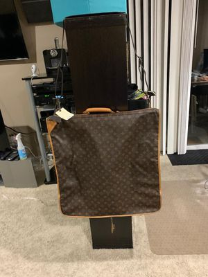 Brown Leather Garment Bag for Sale in Centennial, CO