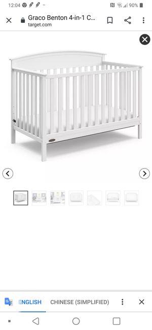 Baby crib like new for Sale in Virginia Beach, VA