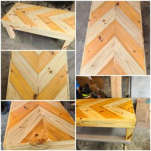 Handmade farmhouse coffee table for Sale in Point Marion, PA