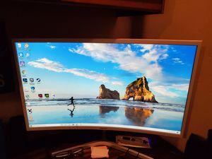"""Samsung 32""""curved monitor for Sale in La Mesa, CA"""