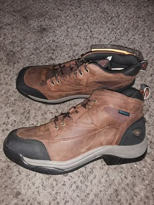 Brand New Mens Waterproof Work boots Botas ARIAT Size 10 for Sale in Scottsdale, AZ