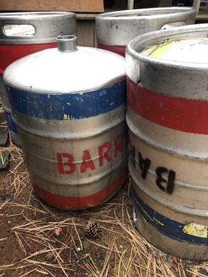 5 stainless kegs for Sale in Whiteriver, AZ