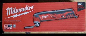 Milwaukee m12 Cordless Multi Tool for Sale in Yucaipa, CA