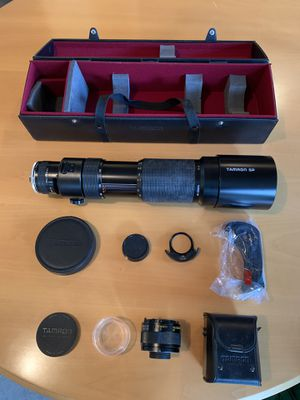 Tamron SP 200-500mm F5.6 Lens w Adaptall for Sale in Wayzata, MN