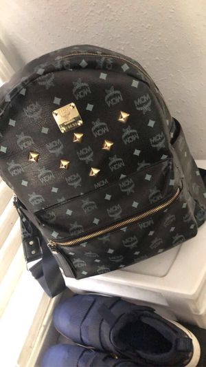 Black Mcm BackPack ❗️ACCEPTING TRADES SHOE SIZE 13❗️ for Sale in Pomona, CA