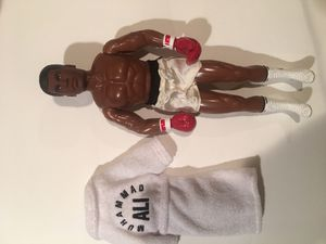Muhammad Ali Action figure with robe for Sale in View Park-Windsor Hills, CA