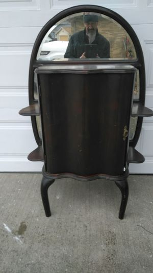 ANTIQUE - 1940's MAHOGANY CABINET - UNIQUE for Sale in Parma, OH
