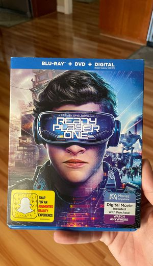 Ready player one. Blu-ray dvd movie for Sale in Santa Ana, CA