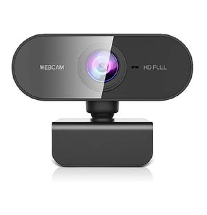 Webcam with Microphone for Desktop, Full HD 1080P Live Streaming Web Cam for Sale in Rialto, CA