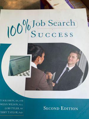 100% Job Search Success 2nd Edition ISBN-13: 978-0495913733, ISBN-10: 0495913731 for Sale in Sacramento, CA