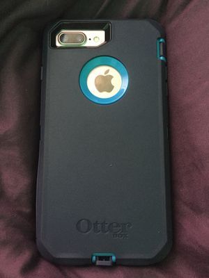 Iphone 7 with otter box case for Sale in Oakland, CA