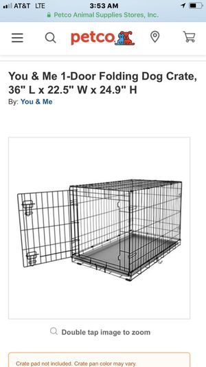 Dog crate for Sale in Cheney, WA