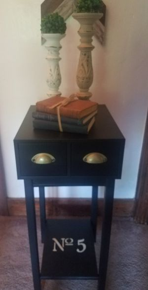 Industrial farmhouse accent table for Sale in US