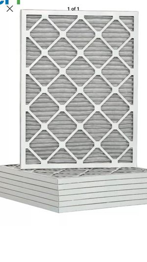 Carrier style air conditioning filters . Ac filters . 16 3/8 x 21 1/2 , 6 pack new never used hard to find size for Sale in Jacksonville, FL