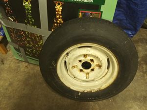 4 bolt trailer tire for Sale in Parma, OH