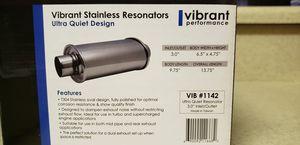 Vibrant Performance Ultra Quiet Resonator 1142 for Sale in Marysville, WA