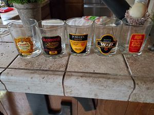 Collectable vintage drinking glasses for Sale in Brea, CA
