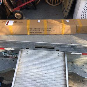 TDS Steel Log Fitness Equipment for Sale in Jackson Township, NJ