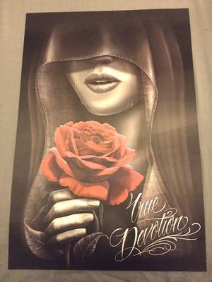 True Devotion 3-D Art Mini Poster for Sale in Manteca, CA