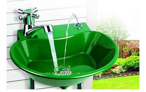 DRINKING FOUNTAINS 2 in 1 Outdoor Sink portable for Sale in Los Angeles, CA