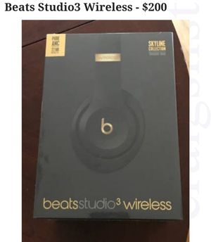 SUPER DEAL!! Brand new BEATS Studio3 Wrless Headphones! 70% off retail!!! for Sale in Frederick, MD