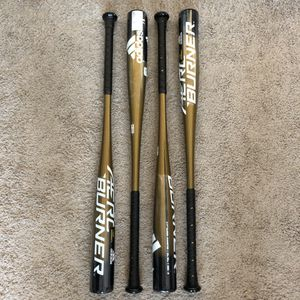 ADIDAS AERO BURNER BASEBALL BAT 33IN INCH 30OZ ABA -3 2 5/8 BARREL DIAMETER BBCOR CERTIFIED .50 NEW for Sale in Lewisville, TX