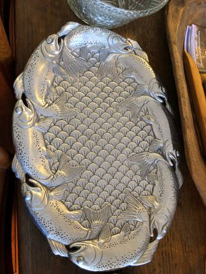 Arthur court serving platter for Sale in Thomasville, GA