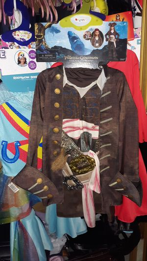 Disney's Pirates of the Caribbean size 4 plus costumes for kids for Sale in Everett, WA