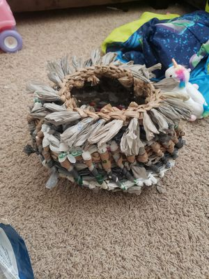 Handmade Weaved Basket 🧺 for Sale in Eagle Lake, FL