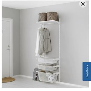 IKEA AGOT System Closet/Space Organizer for Sale in Burbank, CA