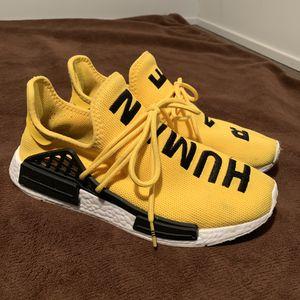 Adidas Human Race (Yellow ) Size 9 for Sale in St. Louis, MO