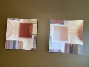Wall Art Set of 2 for Room Decor for Sale in Addison, IL