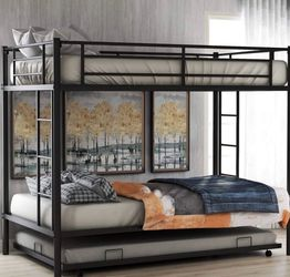 Bunk Bed Frame— Brand New All Hardware Included for Sale in San Francisco,  CA