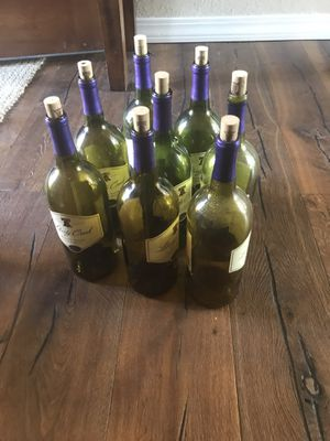 About 25 big empty bottles w corks for project in Briargate for Sale in Colorado Springs, CO