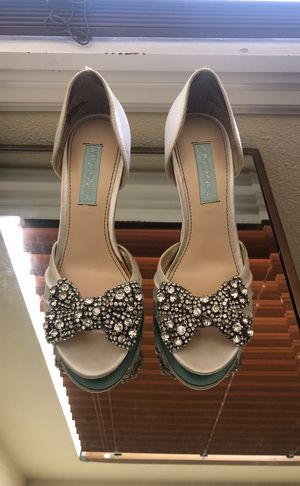 Betsey Johnson wedding shoes for Sale in Tacoma, WA