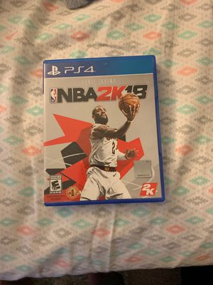 NBA 2K18 for PS4! for Sale in Glendale Heights, IL