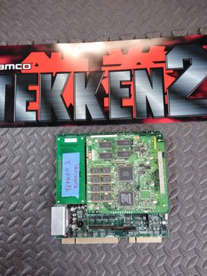 TEKKIN 2 ARCADE GAME PCB BOARD WITH MARQUIS WORKS GREAT for Sale in Bakersfield, CA
