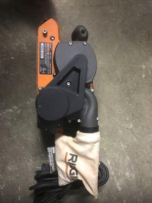 Ridgid Varible Speed/ Model R2740 Hand Sander/ like New for Sale in Punta Gorda, FL