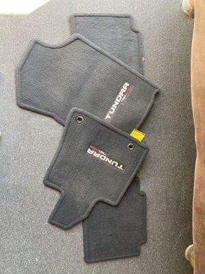 Toyota tundra floor mats. for Sale in Corona, CA
