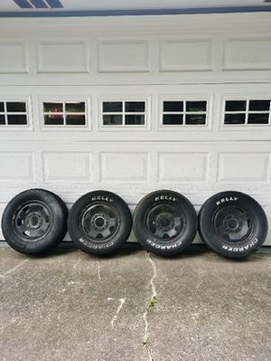 Trailer Wheels or Older Tayota Nissan Truck Tire and rims for Sale in Hapeville, GA