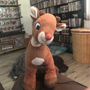 "Rudolph The Red Nosed Reindeer 12"" Plush Toy for Sale in Boynton Beach, FL"
