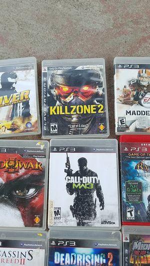 Juegos PS3 for Sale in Stockton, CA