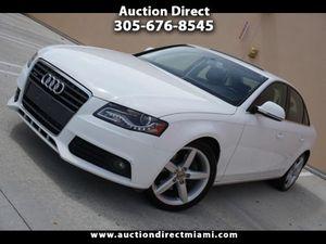 2009 Audi A4 for Sale in Miami, FL