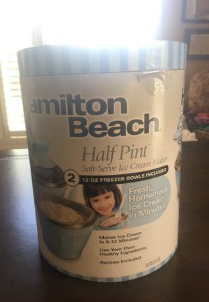 Hamilton Beach Ice Cream Maker for Sale in Waxhaw, NC