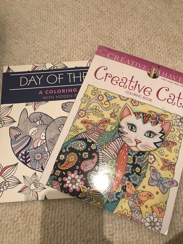 Cat coloring books