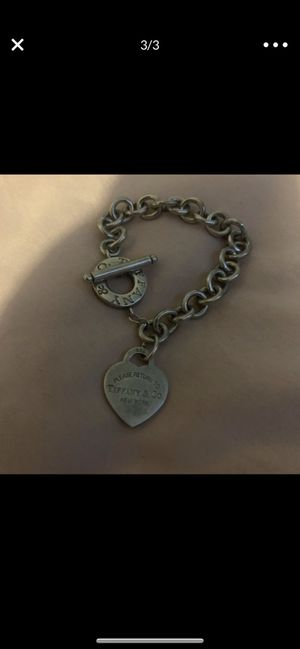 Tiffany and Co. heart tag toggle bracelet for Sale in Round Rock, TX