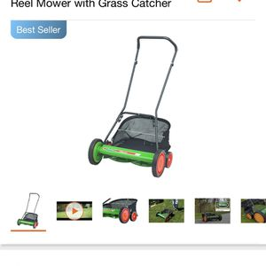 Scotts 20 in. Manual Walk Behind Reel Mower with Grass Catcher for Sale in Commerce, CA