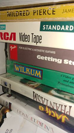 Cd Dvd Odds Ends Vintage Music VHS And More for Sale in Wallingford,  CT
