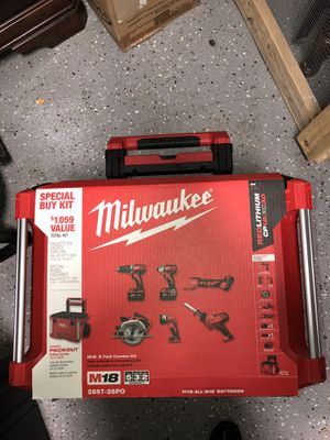 14+ Tools , tool set, generator , nailer , chainsaw , dehumidifier , combo tool kit , welder , hammer drill , brand new. for Sale in Madison Heights, MI