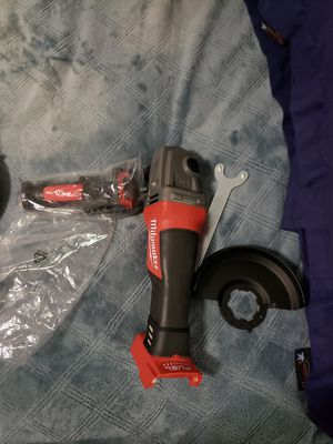Milwaukee grinder m18 redlithium fuel for Sale in The Bronx, NY